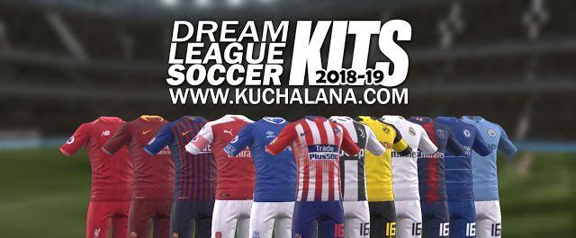 F C Barcelona 2018 19 Nike Kit Dream League Soccer Kits