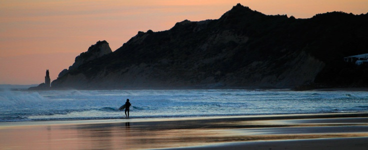 Dusk Surf Gisborne New Zealand