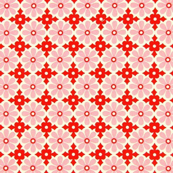 Free Spirit – Snapdaisy 2 - rosa - Heather Bailey - Patchwork - Tessuti - Tessuti in cotone a fiori - Tessuti arredo a fiori - tessuti.com
