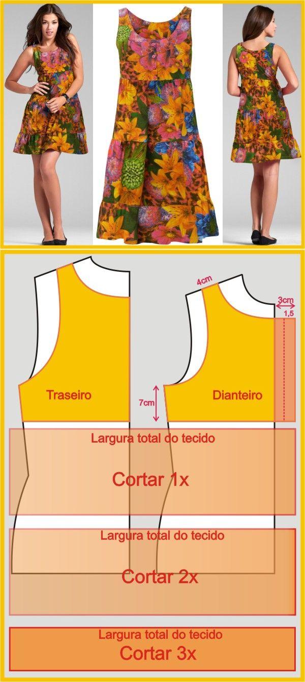 sewing dress...♥ Deniz ♥
