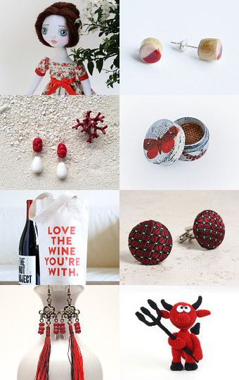 For all members team's  RED.. by Juri Kim on Etsy--Pinned with TreasuryPin.com