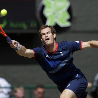 Andy Murray wins GOLD Tennis Great Britain 2012 Olympics