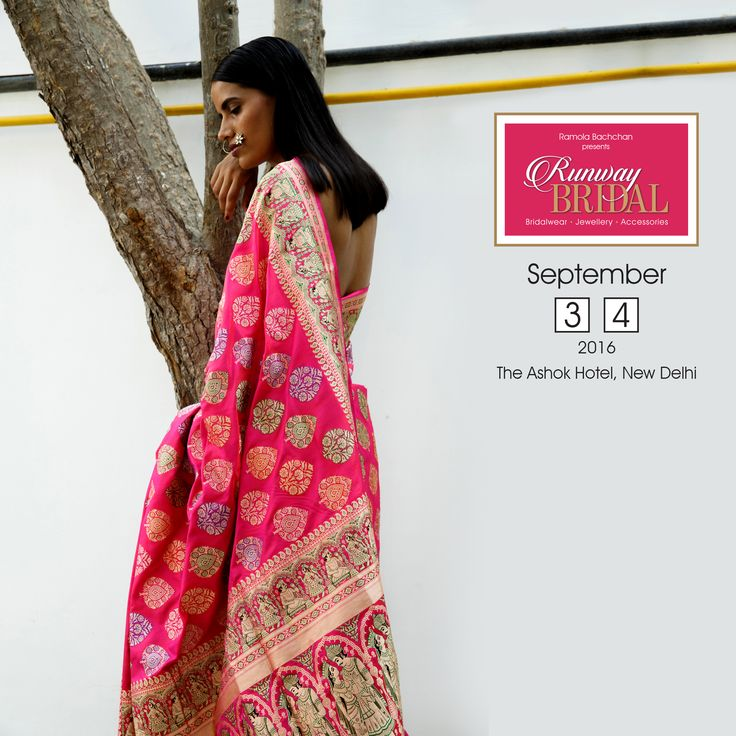 This beautifully detailed handcrafted #KalaSangam saree defines ethereal glamour. #RunwayBridal #Luxury #CelebStyling #Bollywood #BridalWear #Exhibition #Delhi #BridesToBe #RBBrides #AceCouturier #Fashion #IndianFashion #FashionDiaries #Shopping