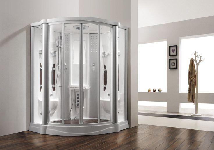 Monalisa M-8210 steam room Japanese sexy steam bathroom steam shower cabin indoor home steam enclosure with foot massage Dimension: 1440*1440*2150mm