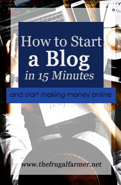 Many people are afraid to start blogging because they think they've got to produce a stellar product from the start. That's simply not the case. As with any business, starting is the most important thing.