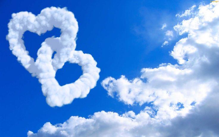 sky love cloud image hd