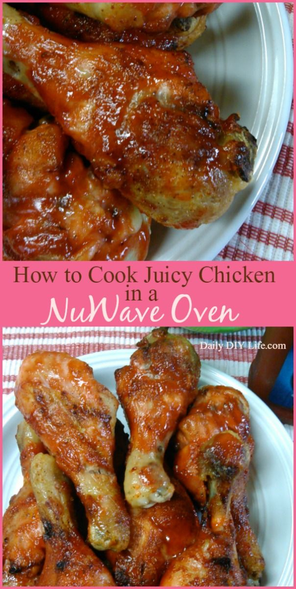How to Cook Mouth Watering Chicken using a NuWave Oven!