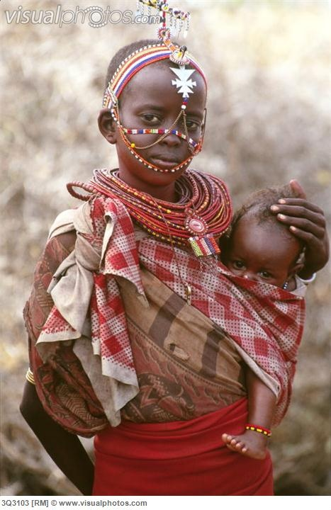 Africa | Samburu children photographed in Kenya | © Art Wolfe.