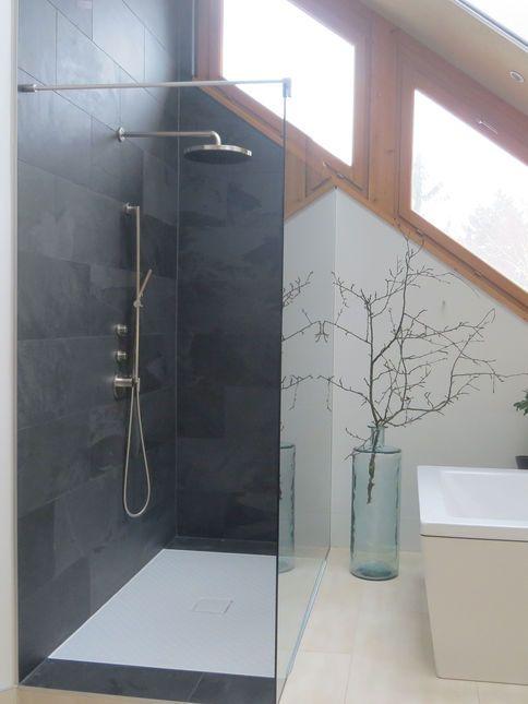 die besten 25+ offene duschen ideen auf pinterest | offene duschen ... - Offene Dusche Im Schlafzimmer
