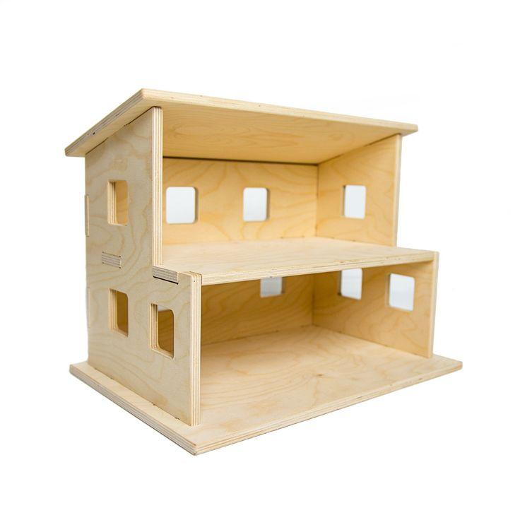 Wood Dollhouse Kids Toy