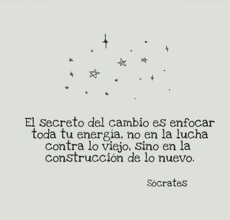 El secreto del cambio... Sócrates*