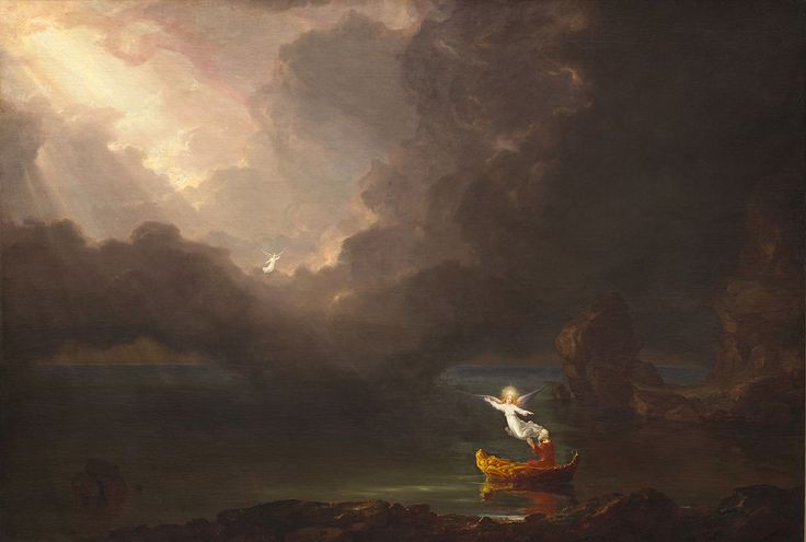 Thomas Cole - The Voyage of Life: Old Age, 1842, Oil on Canvas (National Gallery of Art).jpg