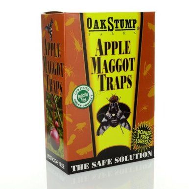 Springstar Apple Maggot Trap With Attracted Lure Pest Control Kills Flies