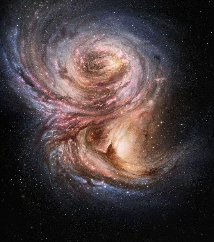 Una galaxia muy, muy lejana.