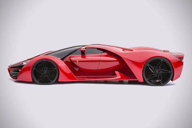 Ferrari F80 Supercar Concept 02