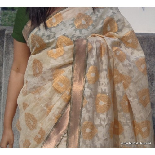 Benarasi Patola Saree with pure silk border