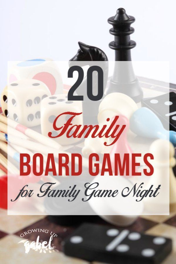 Tired of the same old board games for family game night? Check out our list of fun family board games the entire family will love including adults, kids, and teens!