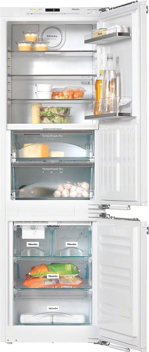 KFN 37692 iDE - Einbau-Kühl-Gefrierkombination für den besonderen Auftritt in der Küche, dank PerfectFresh Pro und FlexiLight.--Lichtweiß