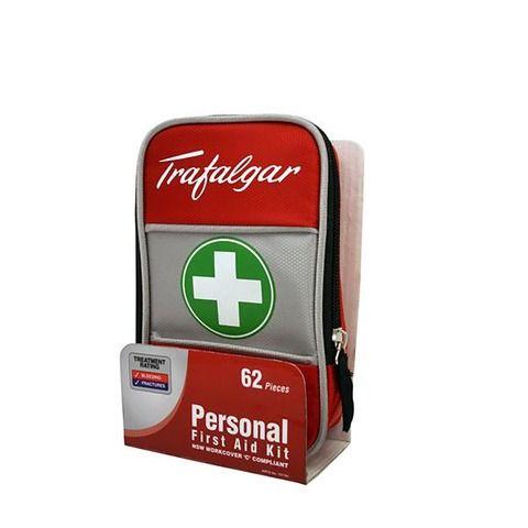 62-Piece Trafalgar Personal First Aid Kit