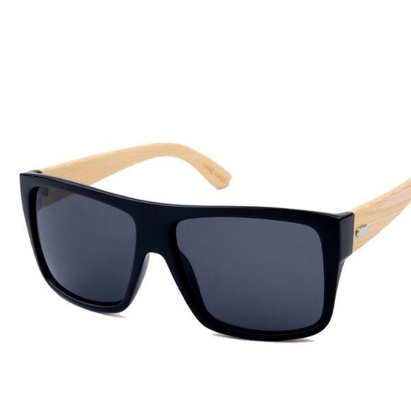 Squary Bamboo Sunglasses