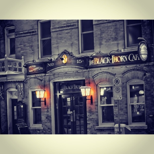The Black Thorn pub in the ByWard Market district, downtown Ottawa.