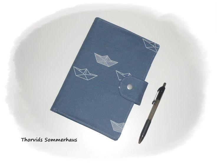 DIN A5 -  Umschlag Notizbuch,Timer, Buch DIN A5 - ein Designerstück von Thorvids-Sommerhaus bei DaWanda