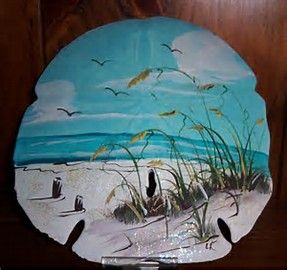 Image result for painted sand dollars