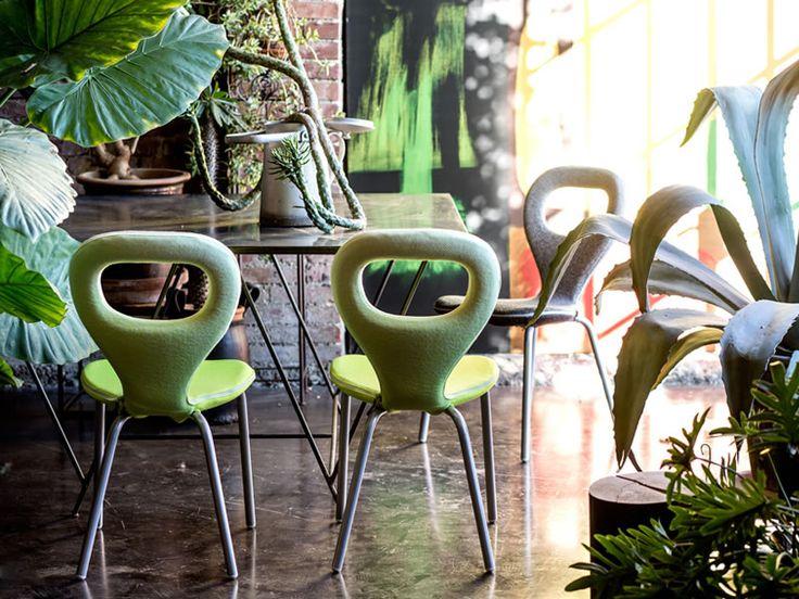TV Chair @morosofficial #design di Marc Newson