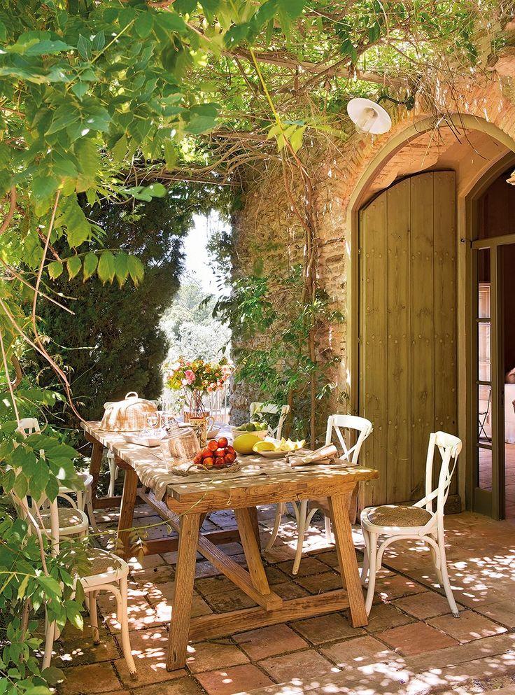 Las 25 mejores ideas sobre porches r sticos en pinterest y - Ideas para jardines rusticos ...