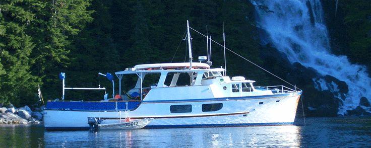 Alaska Yacht Charter Heron Small Ship Inside Passage