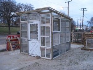 Recycled Window Greenhouse | Recycled window greenhouse by: SB Cox