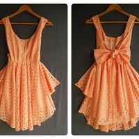 Orange, Summer Dresses, Cocktails Dresses, Parties Dresses, Colors, Wedding Night, Cocktail Dresses, Bows, Prom Parties