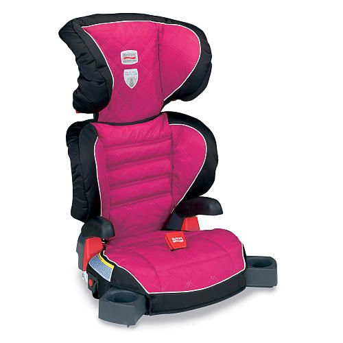 The Parkway SGL Belt-Positioning Booster Car Seat in Livia with ISOFLEX Flexible Lower LATCH Connection System secures the booster seat to the vehicle stabilizes it during a crash and prevents it from becoming a projectile when not in use. The Parkway SGL also features SecureGuard