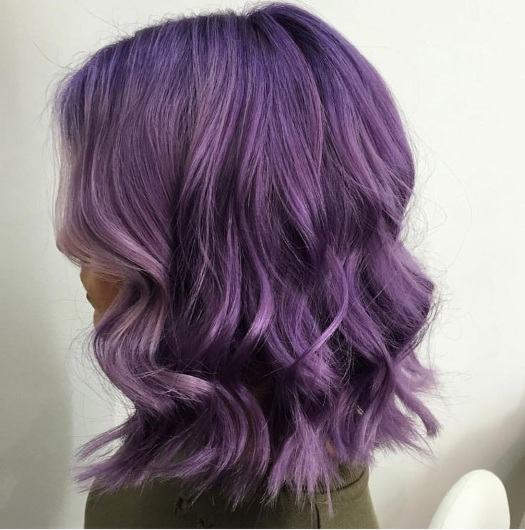 Loving the deep lilac, great work from our salon team.
