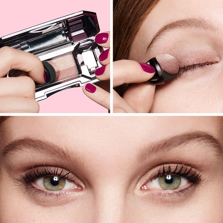 Sweep over eye for the ultimate smoky eye! Eyeshadow has never been so easy, thanks to they're real! duo shadow blender xx