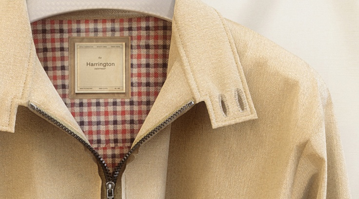 More amazing work from Peter Kolus and Anna Mierzejewska. The detail on this Baracuta G9 style Harrington jacket is just amazing.