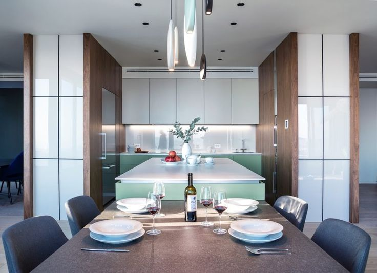 A Stylish and Bold Apartment in Kiev, Ukraine