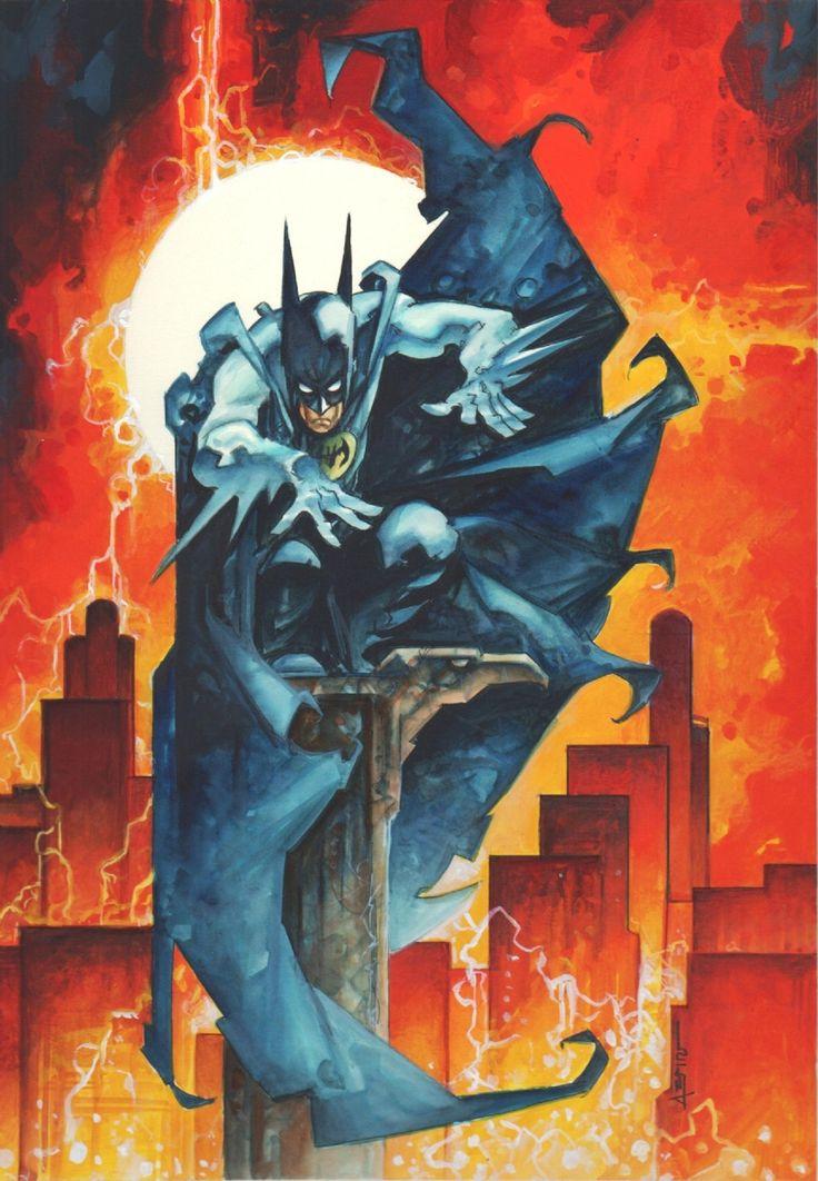 Batman by Alfonso Azpiri Comic Art