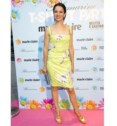 Silvia Jato, fiesta Blumarine y Marie Claire.