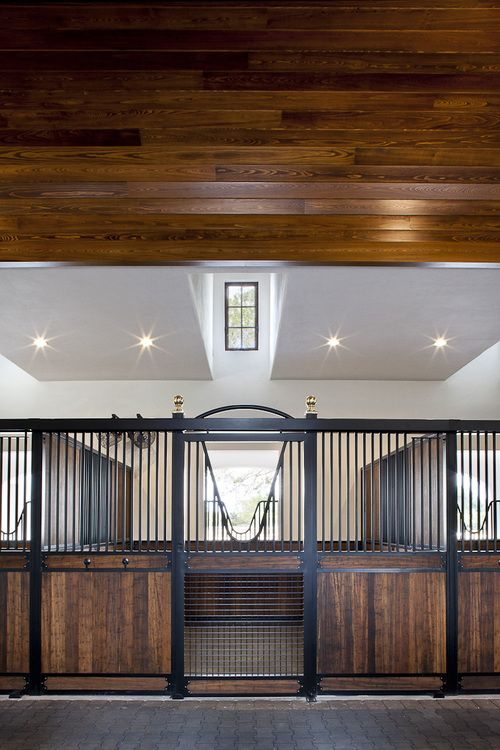 Horse Stall Design Ideas now heres an idea horse barn plans with living quarters 5 stalls 3 Find This Pin And More On Horse Stable Ideas High Stall Front Stall Design