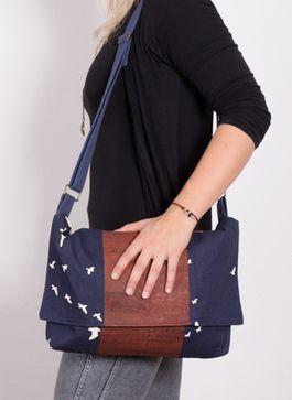 Tutoriel DIY: Coudre un sac à main en liège souple via DaWanda.com