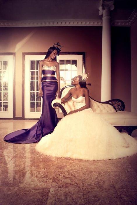 Robes de mariées Pistis Ghana | blackNwed