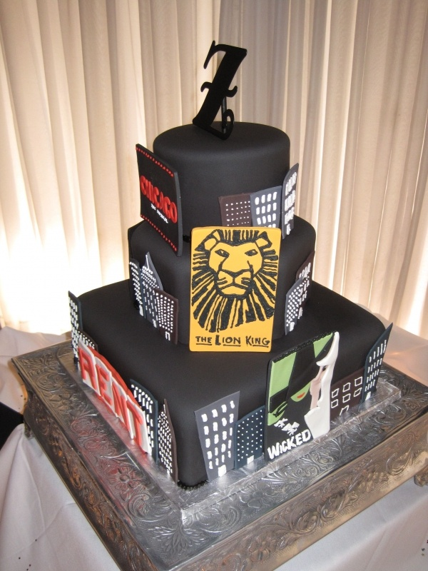 Rent The Musical Th Birthday Cakes