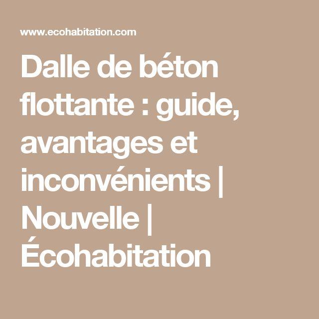 25 best ideas about dalle de beton on pinterest dalle bois dalle bois ter - Le beton cire avantage et inconvenient ...