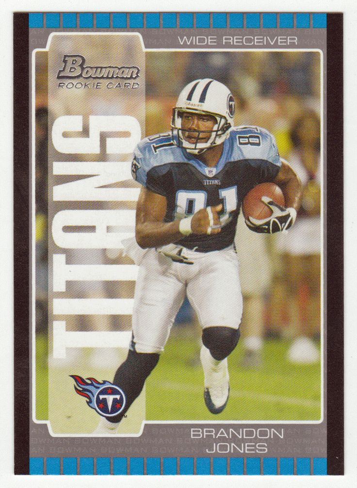 Brandon Jones RC # 271 - 2005 Bowman Football NFL Rookie
