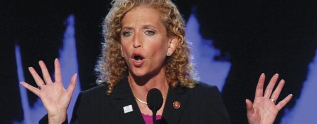 The FOX Nation  Debbie Wasserman Schultz Involved in Police Altercation Outside Voting Precinct    http://nation.foxnews.com/debbie-wasserman-schultz/2012/10/31/shark-tank-wasserman-schultz-involved-police-altercation-outside-voting-precinct
