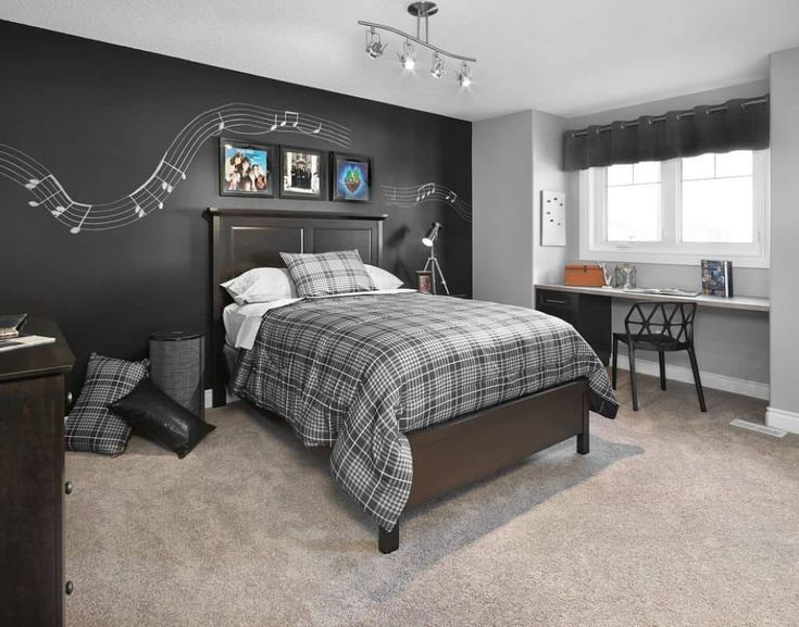 Modern Music Bedroom Theme With Track Lighting : Creating A Music Bedroom Theme In Your House