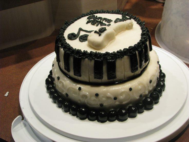 Gâteau musique