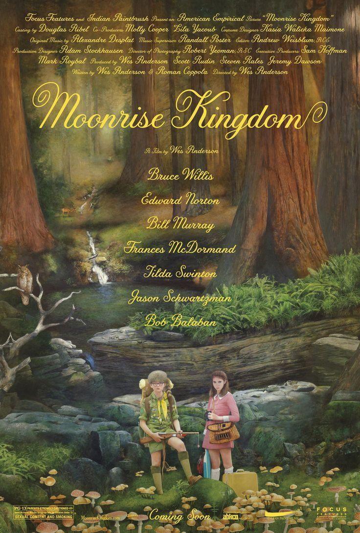 Moonrise Kingdom | 2012 | Genre: Comedy; Drama; Romance | PG-13 | My Rating: 7/10