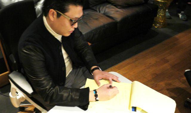 Cruciani bracelets go 'Gangnam Style'    K-Pop's most famous star, Psy, has been spotted wearing cult Italian brand Cruciani's bracelets.